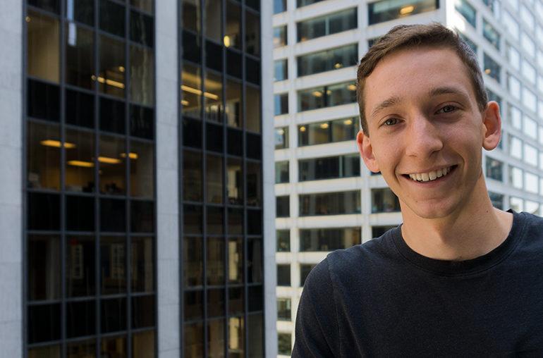 Rob Stamm, 23, CEO einer Digitalagentur. Foto: Johanna Felde
