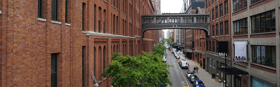 Blick auf die Straßen New Yorks. Foto: Johanna Felde