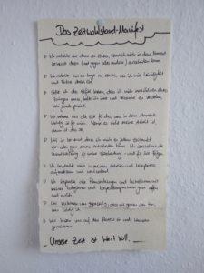 Manifest von Tina Röbel